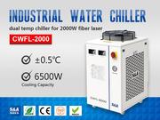 Refrigeration Compressor Water Chiller for 2KW Fiber Laser Cutter